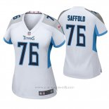 Camiseta NFL Game Mujer Tennessee Titans Rodger Saffold Blanco