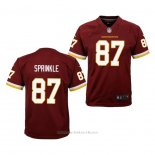 Camiseta NFL Game Nino Washington Redskins Jeremy Sprinkle Rojo