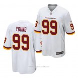 Camiseta NFL Game Washington Redskins Chase Young Blanco