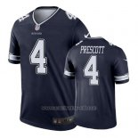Camiseta NFL Legend Hombre Dallas Cowboys Dak Prescott Azul