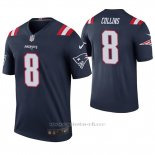 Camiseta NFL Legend Hombre New England Patriots Jamie Collins Azul Color Rush