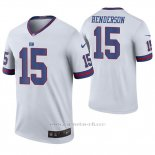 Camiseta NFL Legend Hombre New York Giants Quadree Henderson Blanco Color Rush