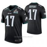 Camiseta NFL Legend Hombre Philadelphia Eagles Alshon Jeffery Negro Super Bowl Lii Champions Color Rush