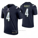 Camiseta NFL Legend Hombre San Diego Chargers 4 Michael Badgley Azul