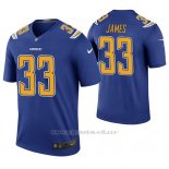 Camiseta NFL Legend Hombre San Diego Chargers Derwin James Azul Color Rush