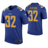 Camiseta NFL Legend Hombre San Diego Chargers Justin Jackson Azul Color Rush