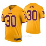 Camiseta NFL Legend Hombre Washington Redskins Troy Apke Oro Color Rush