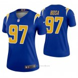 Camiseta NFL Legend Mujer Los Angeles Chargers 97 Joey Bosa 2nd Alterno Azul