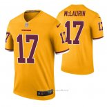 Camiseta NFL Legend Washington Redskins Terry Mclaurin Color Rush Amarillo