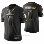 Camiseta NFL Limited Hombre Arizona Cardinals Larry Fitzgerald Golden Edition Negro