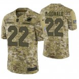 Camiseta NFL Limited Hombre Camo T.j. Mcdonald 2018 Salute To Service Jersey