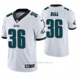 Camiseta NFL Limited Hombre Philadelphia Eagles Deiondre' Hall Blanco Vapor Untouchable