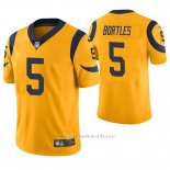 Camiseta NFL Limited Hombre St Louis Rams Blake Bortles Oro Color Rush