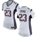 Camiseta New England Patriots Chung Blanco Nike Game NFL Mujer