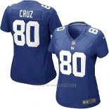 Camiseta New York Giants Cruz Azul Nike Game NFL Mujer