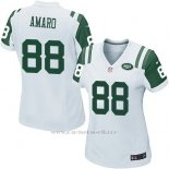 Camiseta New York Jets Amaro Blanco Nike Game NFL Mujer