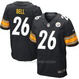 Camiseta Pittsburgh Steelers Bell Negro Nike Elite NFL Hombre