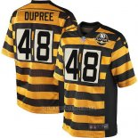 Camiseta Pittsburgh Steelers Dupree Amarillo Nike Game NFL Nino