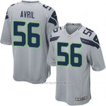 Camiseta Seattle Seahawks Avril Gris Nike Game NFL Hombre