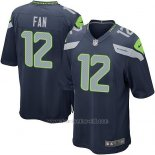 Camiseta Seattle Seahawks Fan Azul Oscuro Nike Game NFL Nino