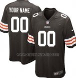 Camisetas NFL Limited Cleveland Browns Personalizada Negro