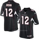 Camiseta Arizona Cardinals Brown Negro Nike Game NFL Nino