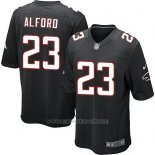 Camiseta Atlanta Falcons Alford Negro Nike Game NFL Nino