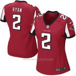 Camiseta Atlanta Falcons Ryan Rojo Nike Game NFL Mujer