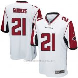 Camiseta Atlanta Falcons Sanders Blanco Nike Game NFL Nino