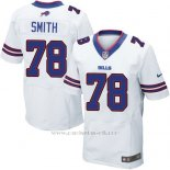 Camiseta Buffalo Bills Smith Blanco Nike Elite NFL Hombre