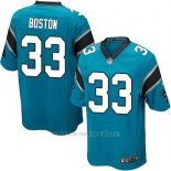 Camiseta Carolina Panthers Boston Lago Azul Nike Game NFL Hombre