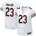 Camiseta Chicago Bears Fuller Blanco Nike Game NFL Mujer