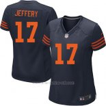Camiseta Chicago Bears Jeffery Azul Nike Game NFL Mujer
