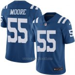 Camiseta Indianapolis Colts Moore Azul Nike Legend NFL Hombre