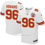 Camiseta Kansas City Chiefs Howard Blanco Nike Elite NFL Hombre