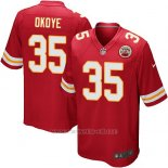 Camiseta Kansas City Chiefs Okoye Rojo Nike Game NFL Nino