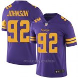Camiseta Minnesota Vikings Johnson Violeta Nike Legend NFL Hombre
