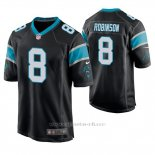 Camiseta NFL Game Hombre Carolina Panthers Aldrick Robinson Negro
