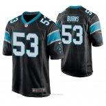 Camiseta NFL Game Hombre Carolina Panthers Brian Burns Negro