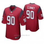 Camiseta NFL Game Hombre Houston Texans Jadeveon Clowney Rojo