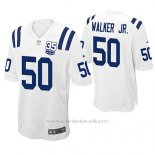 Camiseta NFL Game Hombre Indianapolis Colts Anthony Walker Jr. Blanco 35th Anniversary