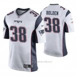 Camiseta NFL Game Hombre New England Patriots Brandon Bolden Blanco