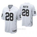 Camiseta NFL Game Hombre Oakland Raiders Doug Martin Blanco