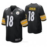 Camiseta NFL Game Hombre Pittsburgh Steelers Diontae Johnson Negro