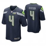 Camiseta NFL Game Hombre Seattle Seahawks Michael Dickson Pga Patch Azul