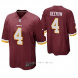 Camiseta NFL Game Hombre Washington Redskins Case Keenum Rojo