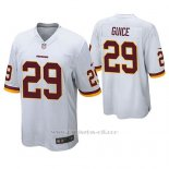 Camiseta NFL Game Hombre Washington Redskins Derrius Guice Blanco
