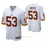 Camiseta NFL Game Hombre Washington Rojoskins Jon Bostic Blanco
