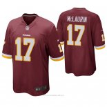 Camiseta NFL Game Hombre Washington Rojoskins Terry Mclaurin Rojo
