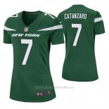 Camiseta NFL Game Mujer New York Jets Chandler Catanzaro Verde